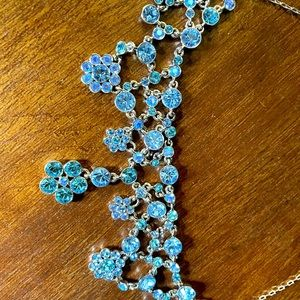 **SALE** GORGEOUS NECKLACE BY GIVENCHY BLUES/AQUAS